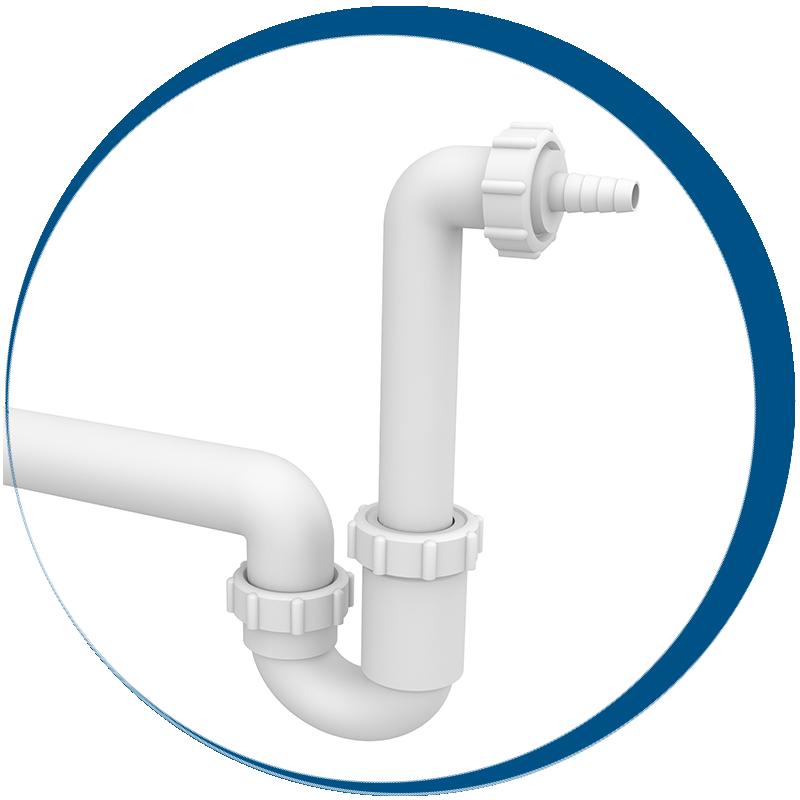 Bojler csepegtetők és kondenzvíz szifonok