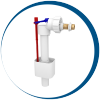 Fill and flush valves