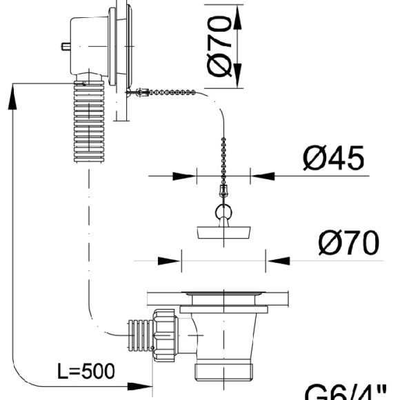 STY-536-1 kádszifon