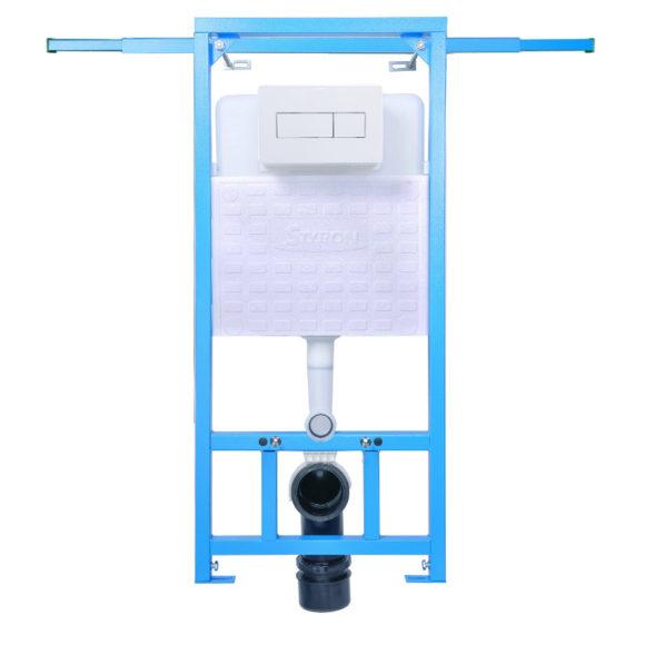 STY-742-A NIAGARA FIX Beépíthető WC tartály + fehér nyomólap