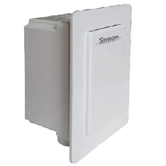 STY-300-KLE+MD klímaszifon műanyag dobozzal