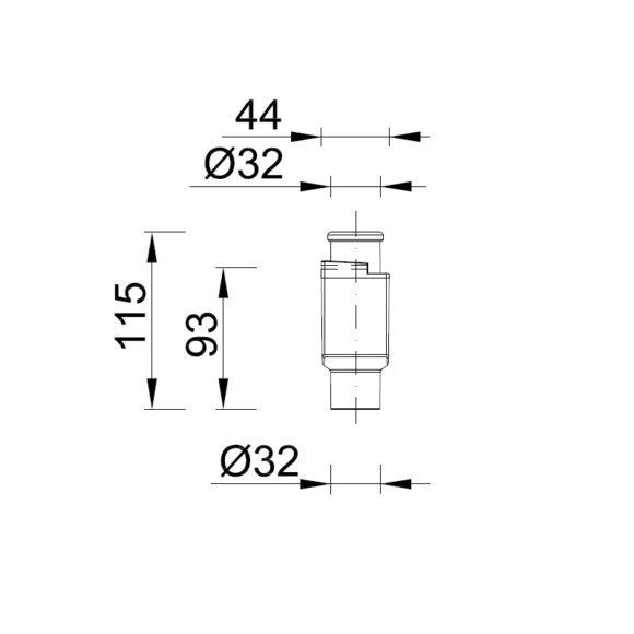 STY-300-KLE klímaszifon